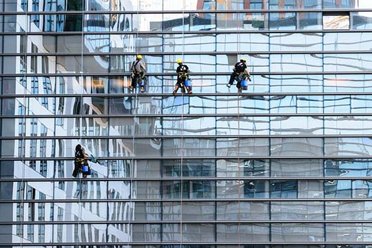 Technical Services - Windows & Building Façade Cleaning